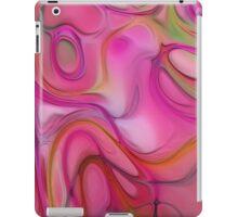 Pink pattern softly iPad Case/Skin