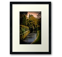 Roath Park Cardiff Wales Framed Print