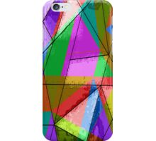 Colorful triangle iPhone Case/Skin