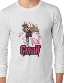 Gambit Superheroes T-Shirt Long Sleeve T-Shirt