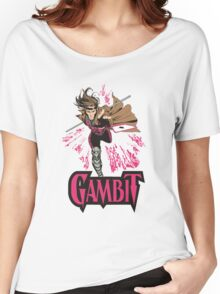 Gambit Superheroes T-Shirt Women's Relaxed Fit T-Shirt