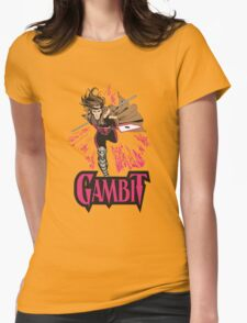 Gambit Superheroes T-Shirt Womens Fitted T-Shirt