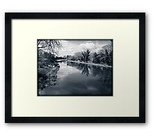 Kennet and Avon Canal Berkshire England Framed Print