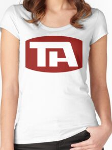 Trans American Airlines (Airplane!) Women's Fitted Scoop T-Shirt