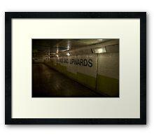 Subway - Onwards And Upwards Framed Print
