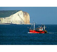Seaford Heading Home Photographic Print