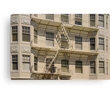 San Francisco Apartments Canvas Print