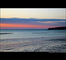 Pink Evening At West Meadow Beach - Stony Brook, New York  by © Sophie W. Smith
