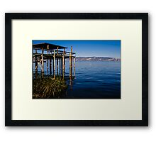 Clear Lake USA Framed Print