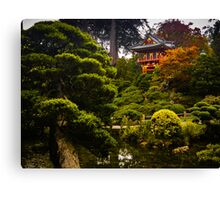 Japanese Garden San Francisco Canvas Print
