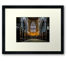 St Lawrence Church Hungerford Berkshire Framed Print