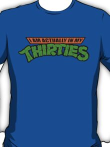 Teenage Mutant Ninja Thirties HARDCORE  T-Shirt