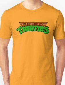 Teenage Mutant Ninja Thirties HARDCORE  T-Shirt