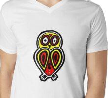 Lucha Owlbre Mens V-Neck T-Shirt