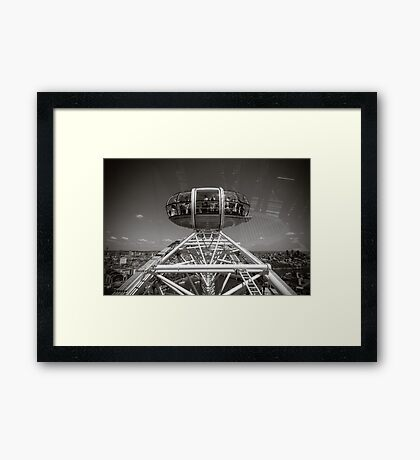 London Eye England Framed Print