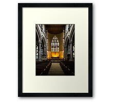St Lawrence Church Hungerford England Framed Print