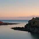 Sunset, Portpatrick Harbour  by Tim Haynes