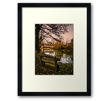 Lower Denford Hungerford England Framed Print
