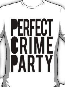 Bakuman: Perfect Crime Party white t-shirt T-Shirt