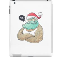 Hipsta Claus iPad Case/Skin