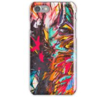 Colorful vibrant bird mural for your i-Phone iPhone Case/Skin
