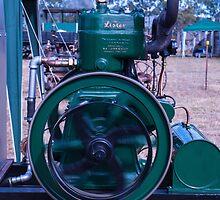 Lister Stationary Engine by Deborah McGrath