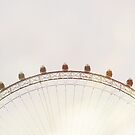 The London Eye II by Tom Cadrin