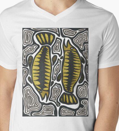 Goodoo (Fish) Mens V-Neck T-Shirt
