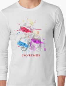 CHVRCHES ILLUSTRATION Long Sleeve T-Shirt