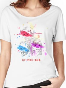CHVRCHES ILLUSTRATION Women's Relaxed Fit T-Shirt