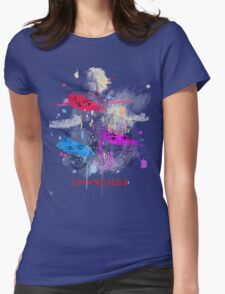 CHVRCHES ILLUSTRATION Womens Fitted T-Shirt