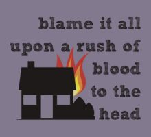 Coldplay - A Rush of Blood to the Head Kids Clothes