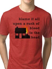 Coldplay - A Rush of Blood to the Head Tri-blend T-Shirt