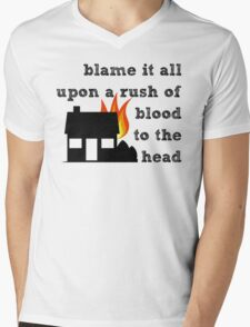 Coldplay - A Rush of Blood to the Head Mens V-Neck T-Shirt