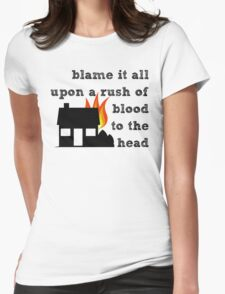Coldplay - A Rush of Blood to the Head Womens Fitted T-Shirt