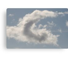 Cloud Alphabet Canvas Print