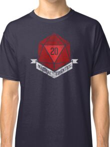 Natural 20's (RED) Classic T-Shirt