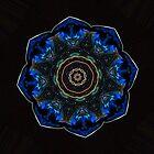 Blue Orb by KingstonPrints