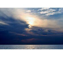 Horizon Storm Photographic Print