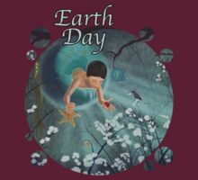 Keepsakes of the Ocean - Earth Day - Clothing + Stickers by Audra Lemke