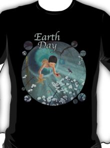 Keepsakes of the Ocean - Earth Day - Clothing + Stickers T-Shirt