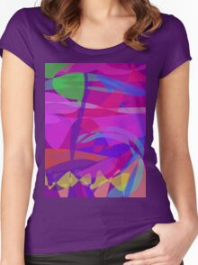 Ocean Current Women's Fitted Scoop T-Shirt