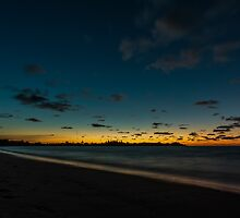 East Beach Sunset, Low Head, Tasmania by fotosic