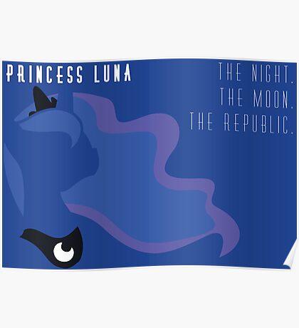 Princess Luna Republic Poster
