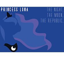 Princess Luna Republic Photographic Print
