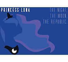 Princess Luna Republic Photographic Print