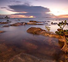Nightcliff Sunset Enlightened by Andrew Brooks