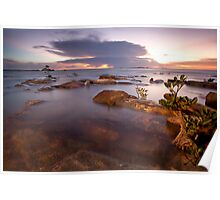 Nightcliff Sunset Enlightened Poster