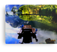 British Columbia Metal Print