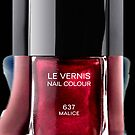Red Maroon Malice nail polish photograph apple iphone 5, iphone 4 4s, iPhone 3Gs, iPod Touch 4g case by Pointsalestore .com